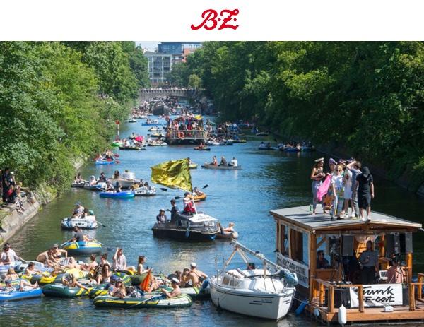 BZ-Berlin News: LOVEPARADE! Die Party auf dem Landwehrkanal soll es auch 2021 geben!