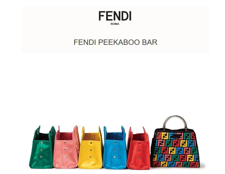 Kujunda oma peekaboo! FENDI poolt!
