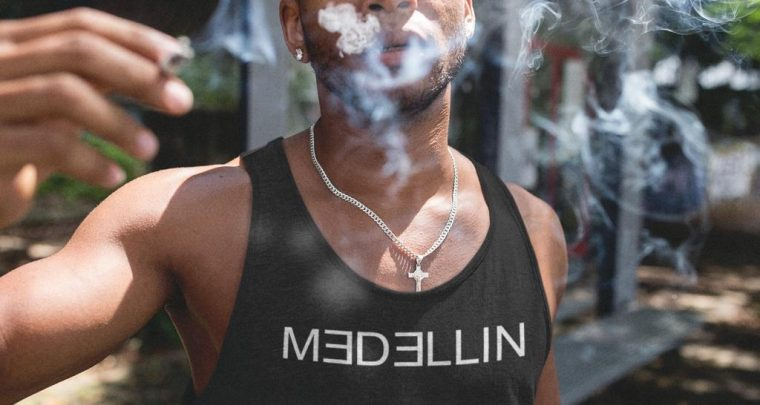 "X Sicario – MEDELLIN Tank Top! – ""NEW Popeye Summer Fashion: FOR HIM!"" – T-Shirts & Tanktops ! – SHOP NOW!"