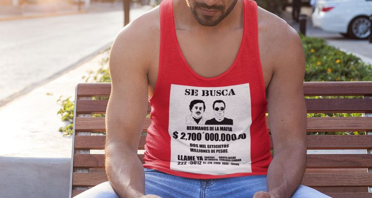 "X Sicario – SE BUSCA T-Shirt! – ""NEW Popeye Summer Fashion: FOR HIM!"" – T-Shirts & Tanktops ! – SHOP NOW!"